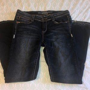 Super Cute Bootcut Vanity Jeans Size 29/33L